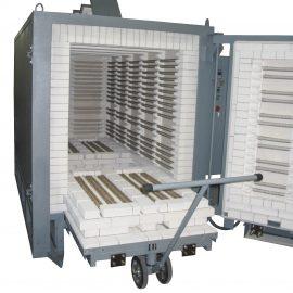 hornos eléctricos insdustriales cerámica, tratamiento térmico, hornos par vidrio